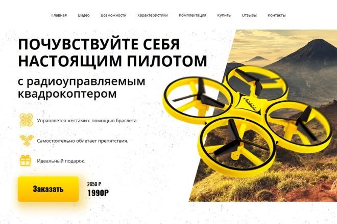 Копии двух лендингов из каталогов товарных CPA за 500 рублей 6 - kwork.ru