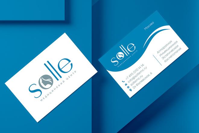 Дизайн визитки с исходниками 2 - kwork.ru