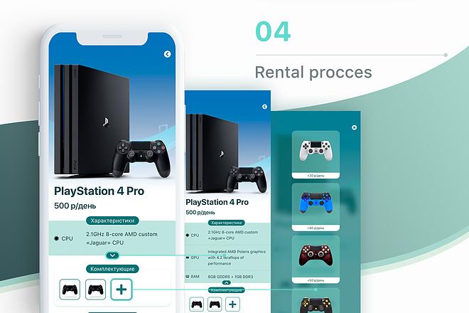 Дизайн мобильного приложения UI UX 15 - kwork.ru