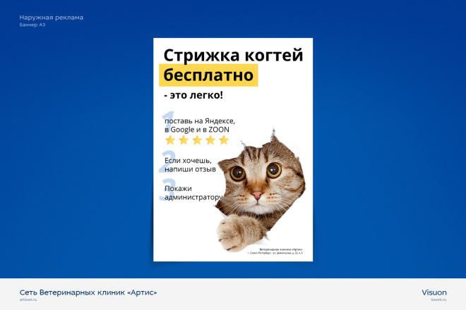 Наружная реклама l Билборд, Баннер, Roll Up для печати 5 - kwork.ru