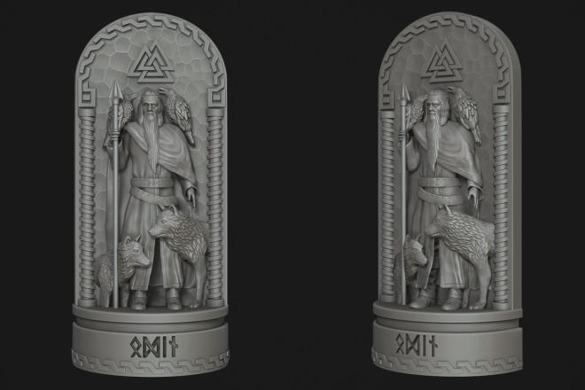 Создам 3D модель для печати или чпу 4 - kwork.ru