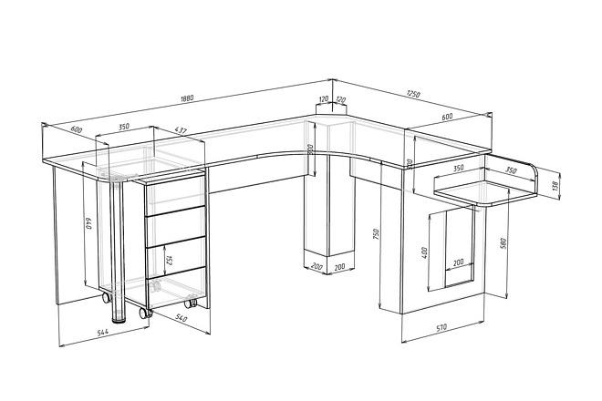 Конструкторская документация для изготовления мебели 68 - kwork.ru