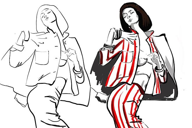 Сделаю иллюстрацию в стиле фэшн иллюстрации 14 - kwork.ru