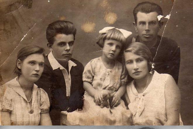 Реставрация старых фото, восстановление утраченных фрагментов 1 - kwork.ru