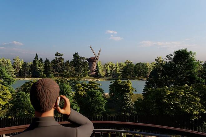 Фотореалистичная 3D визуализация экстерьера Вашего дома 153 - kwork.ru
