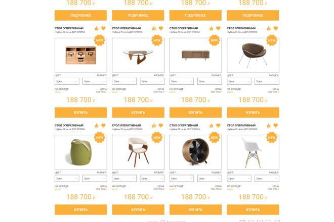 Уникальный дизайн сайта для вас. Интернет магазины и другие сайты 34 - kwork.ru