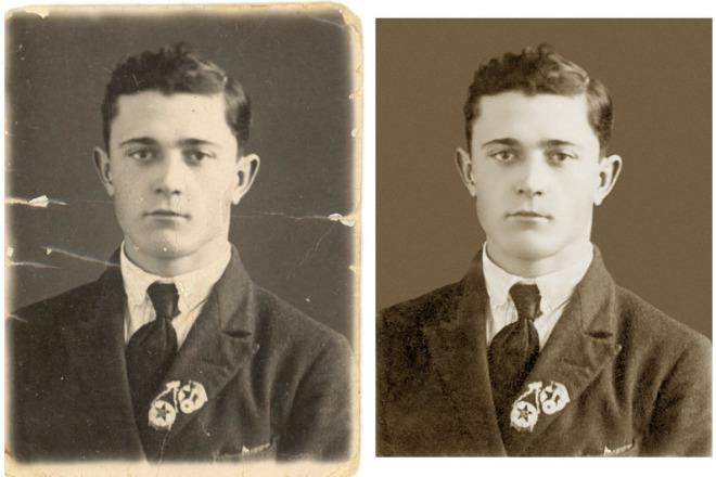 истории реставрация старых фотографий в юзао маникюр коротких ногтях