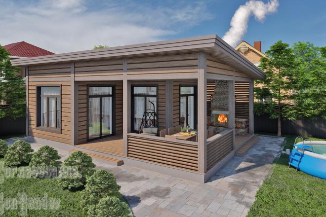 Фотореалистичная 3D визуализация экстерьера Вашего дома 6 - kwork.ru
