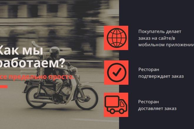 Стильный дизайн презентации 413 - kwork.ru