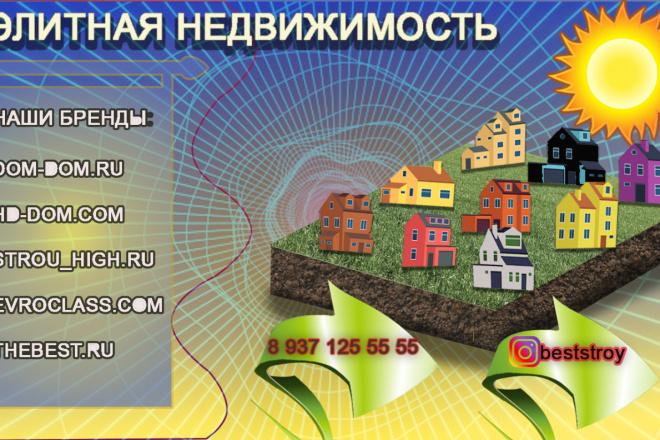 Разработаю рекламный баннер для продвижения Вашего бизнеса 5 - kwork.ru