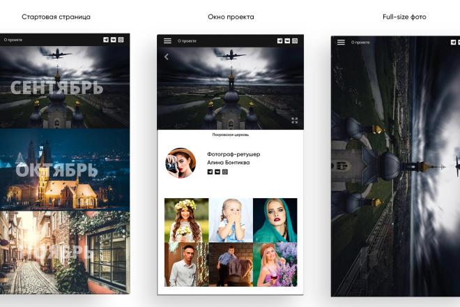 Дизайн сайта или лендинга 7 - kwork.ru