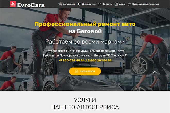 Создам сайт-одностраничник лендинг + 2 подарка 7 - kwork.ru