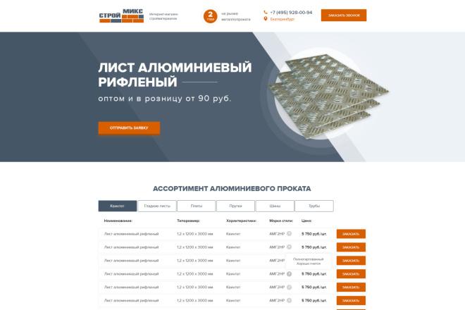 Дизайн страницы Landing Page - Профессионально 15 - kwork.ru