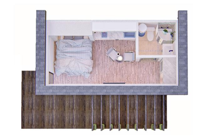 Фотореалистичная 3D визуализация экстерьера Вашего дома 181 - kwork.ru