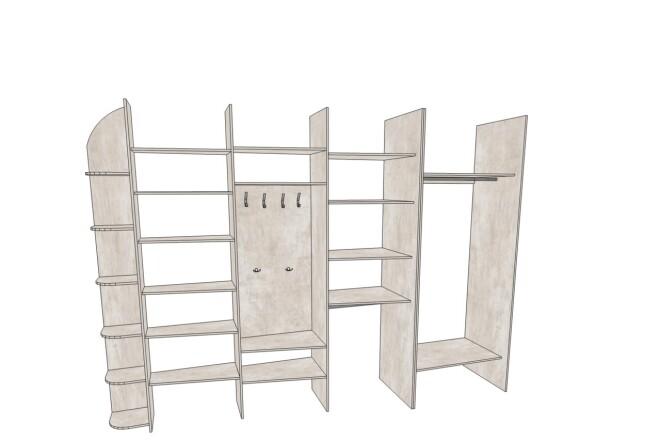 Проектирование корпусной мебели 5 - kwork.ru