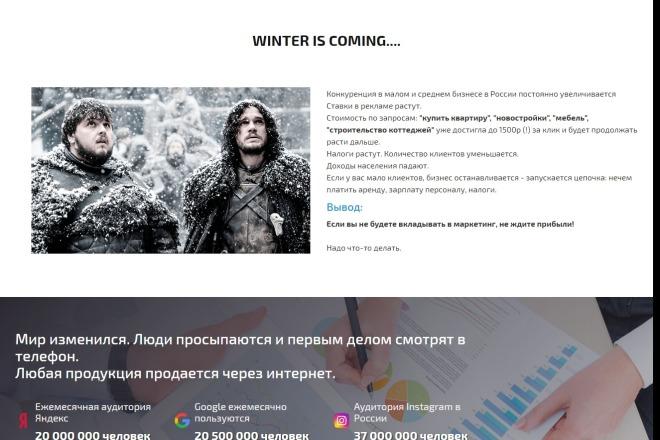 Сайт под ключ. Landing Page. Backend 123 - kwork.ru
