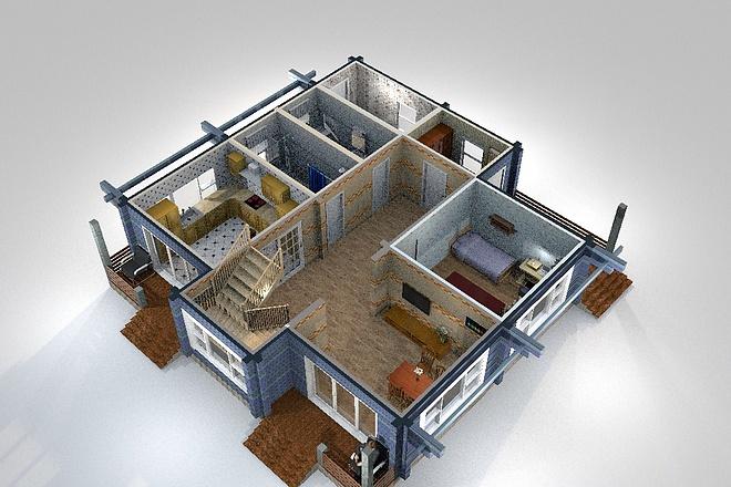 3D визуализация помещений 27 - kwork.ru