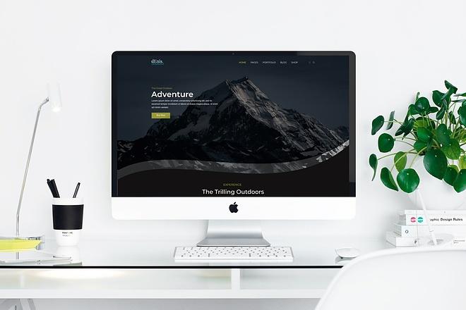 Дизайн landing page для вашего бизнеса 3 - kwork.ru