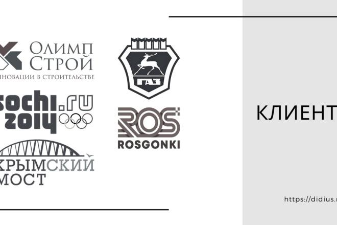 Стильный дизайн презентации 109 - kwork.ru
