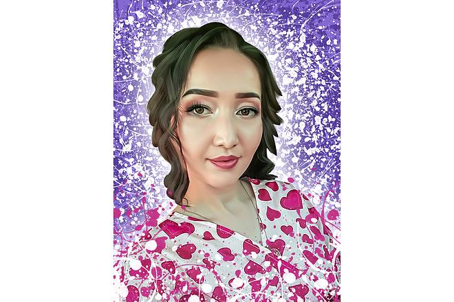 Дрим Арт портрет 36 - kwork.ru