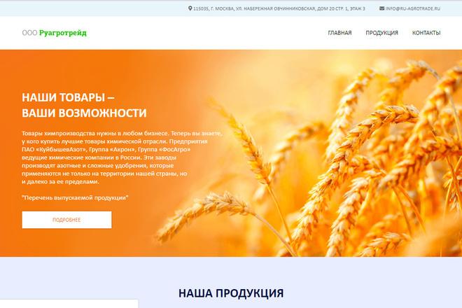Профессионально и недорого сверстаю любой сайт из PSD макетов 40 - kwork.ru