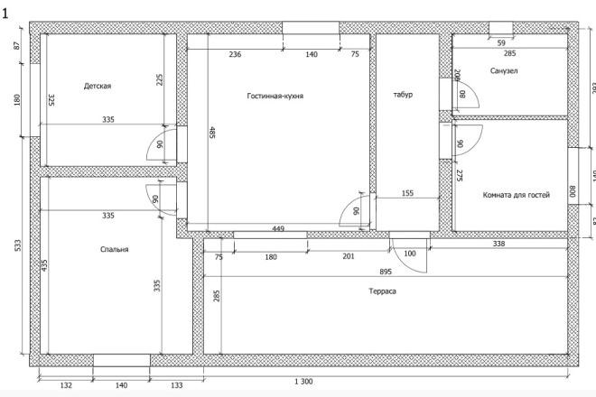 Интересные планировки квартир 49 - kwork.ru