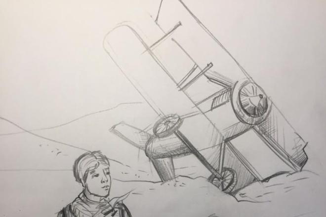 Нарисую рисунок или эскиз в ручной технике красиво и быстро 1 - kwork.ru