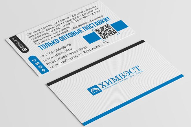 Разработаю красивый, уникальный дизайн визитки в современном стиле 18 - kwork.ru