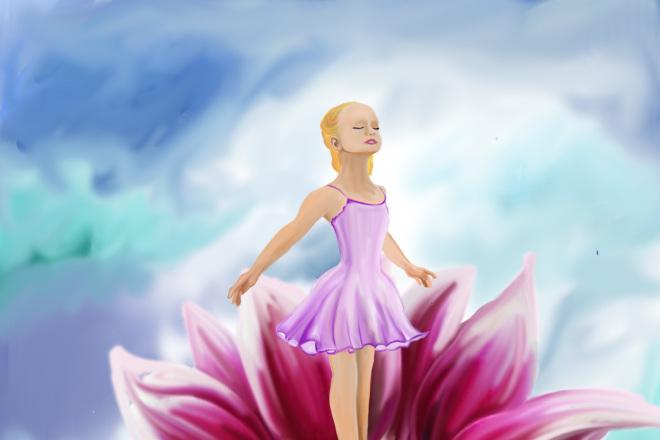 Детские Иллюстрации 1 - kwork.ru