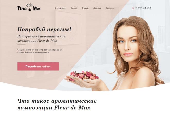 Продающий сайт - Лендинг под ключ, для любых целей 4 - kwork.ru