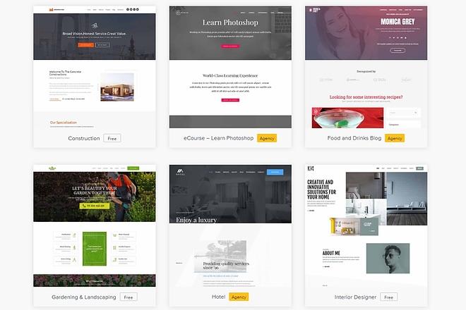 ПАК 1000 шаблонов и дополнений для WordPress 61 - kwork.ru