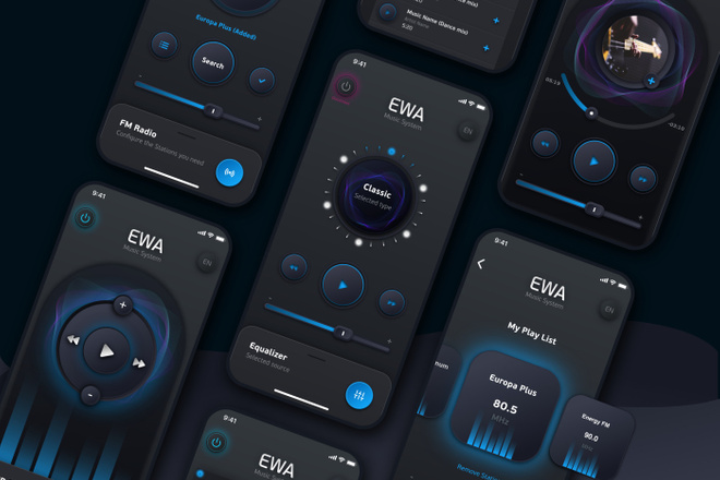 Дизайн мобильных приложений 4 - kwork.ru