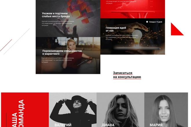 Создание лендинга на Tilda 3 - kwork.ru