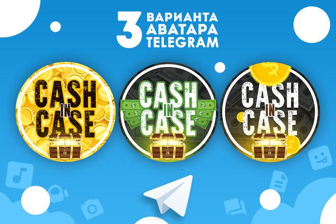 Оформление Telegram 30 - kwork.ru