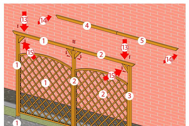 Схема, инструкция сборки мебели 19 - kwork.ru