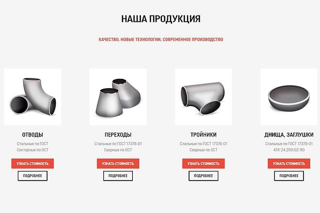 Создание сайта - Landing Page на Тильде 144 - kwork.ru