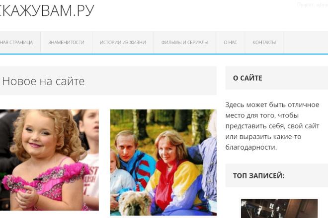 Установка CMS Wordpress на хостинг с полной настройкой 4 - kwork.ru