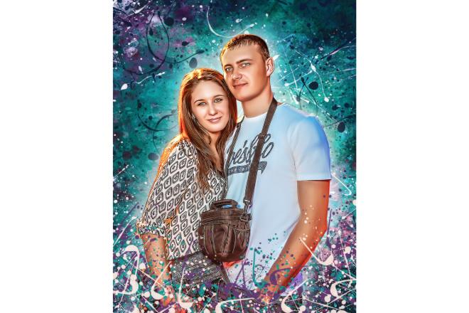 Дрим Арт портрет 27 - kwork.ru