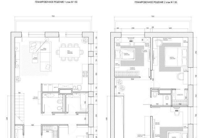 Планировочное решение вашего дома, квартиры, или офиса 5 - kwork.ru