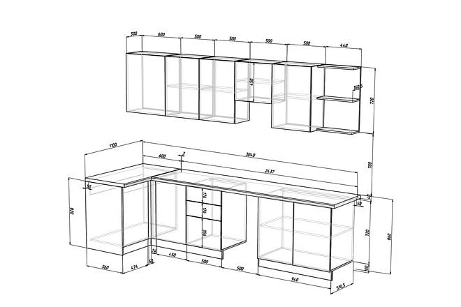 Конструкторская документация для изготовления мебели 64 - kwork.ru