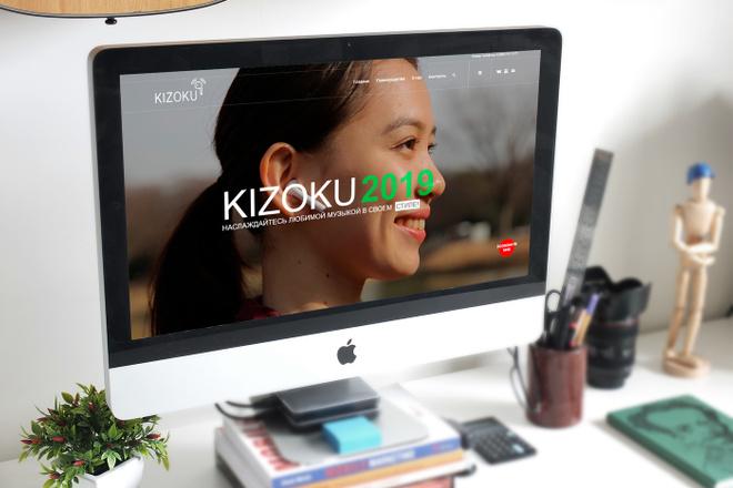 Создам современный адаптивный landing на Wordpress 14 - kwork.ru