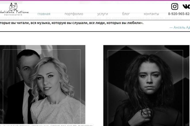 Создание сайтов на конструкторе сайтов WIX, nethouse 18 - kwork.ru