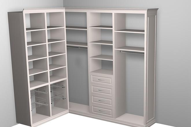 Визуализация мебели, предметная, в интерьере 31 - kwork.ru