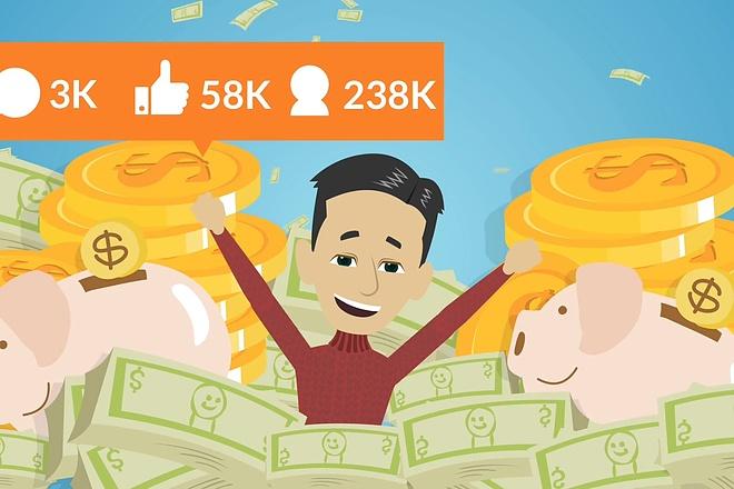 Бюджетное видео для рекламы 1 - kwork.ru