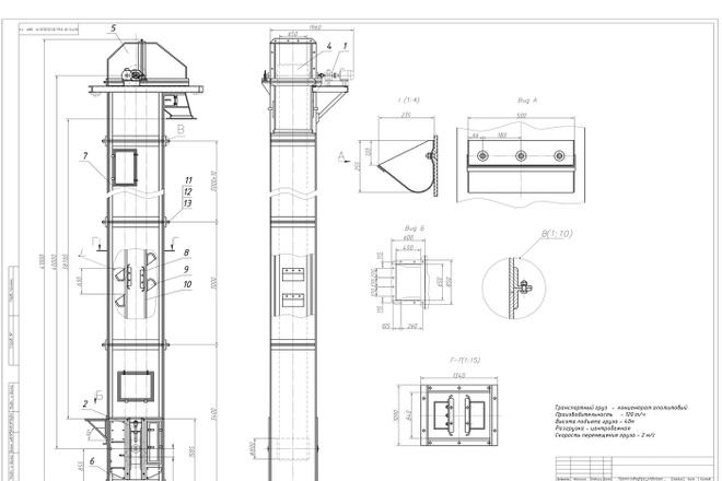 Выполняю простые и сложные чертежи в AutoCAD 36 - kwork.ru