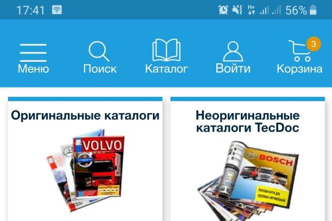 Разработка мобильных приложений для iOS и Android 3 - kwork.ru