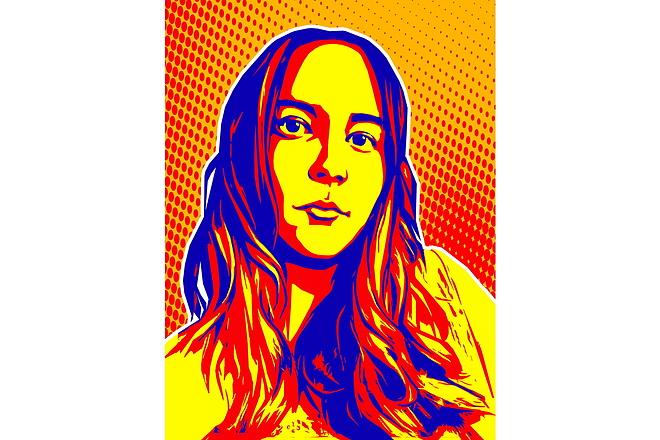 Качественный поп-арт портрет по вашей фотографии 28 - kwork.ru