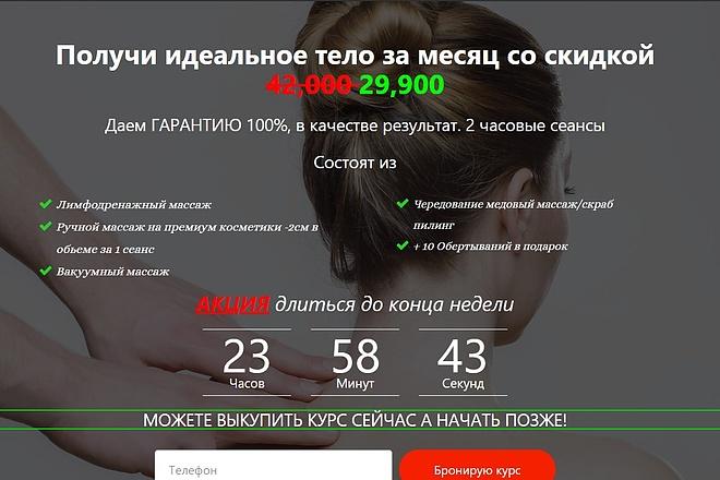 Создам лендинг на вордпресс быстро 21 - kwork.ru