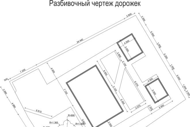 Проект ландшафтного дизайна участка 6 - kwork.ru