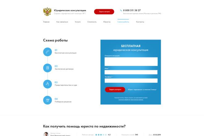 Дизайн страницы Landing Page - Профессионально 20 - kwork.ru